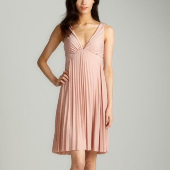 b537c4c83d Halston Heritage Dresses   Skirts - NWOT Halston Heritage blush pink  pleated dress
